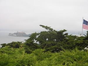 Alcatraz from Telegraph Hill