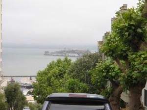 Alcatraz from Lombard Street