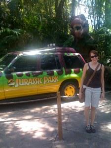 Me in Jurassic Park