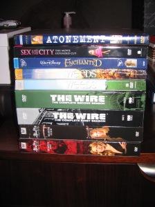 My DVDs