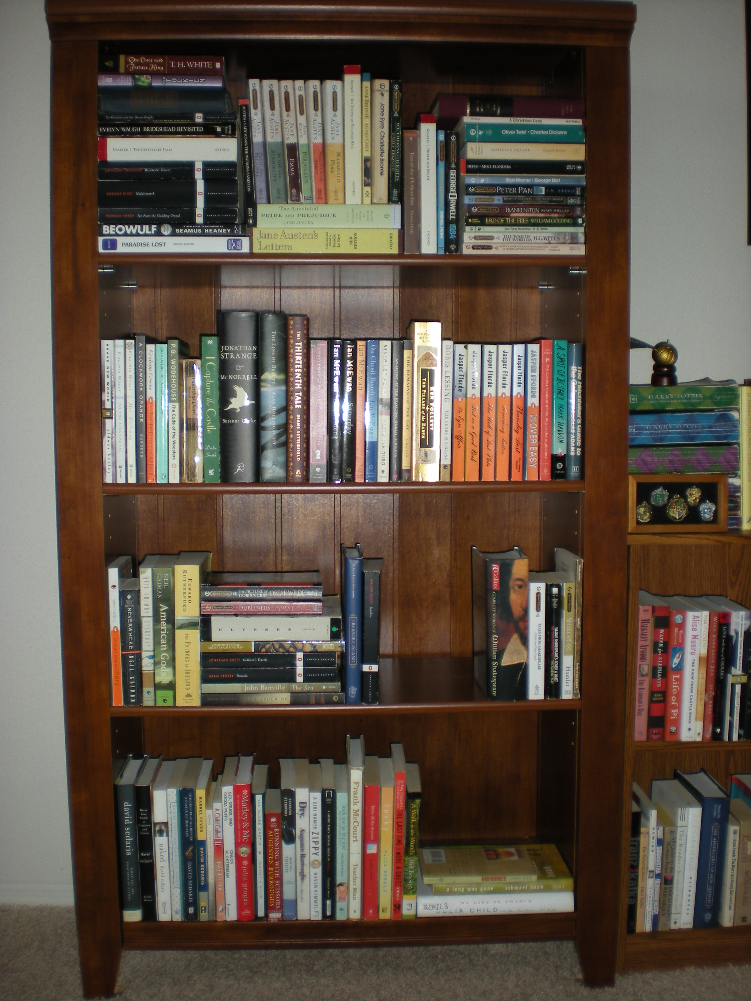 Bookshelves With Books ~ May my books life